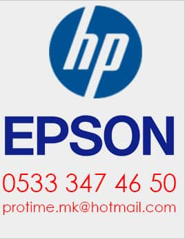 EPSON Çorum Plotter Servis