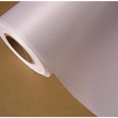 420mm x 15,2 mt Cotton Canvas White Back ( Waterproof ) 360 Gr